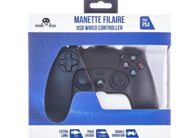 manette filaire pour PS4
