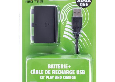 Batterie + Cable de recharge Pour XBOX ONE Play And Charge