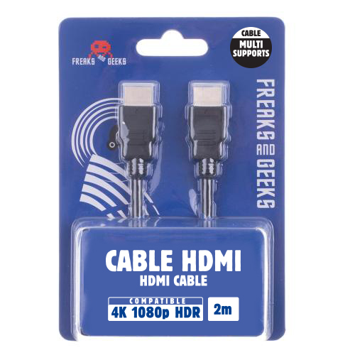 Câble HDMI ETHERNET 1.4 (2m) 4K