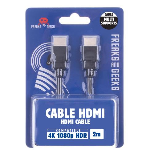 Câble HDMI ETHERNET 1.4 (2m) 4K