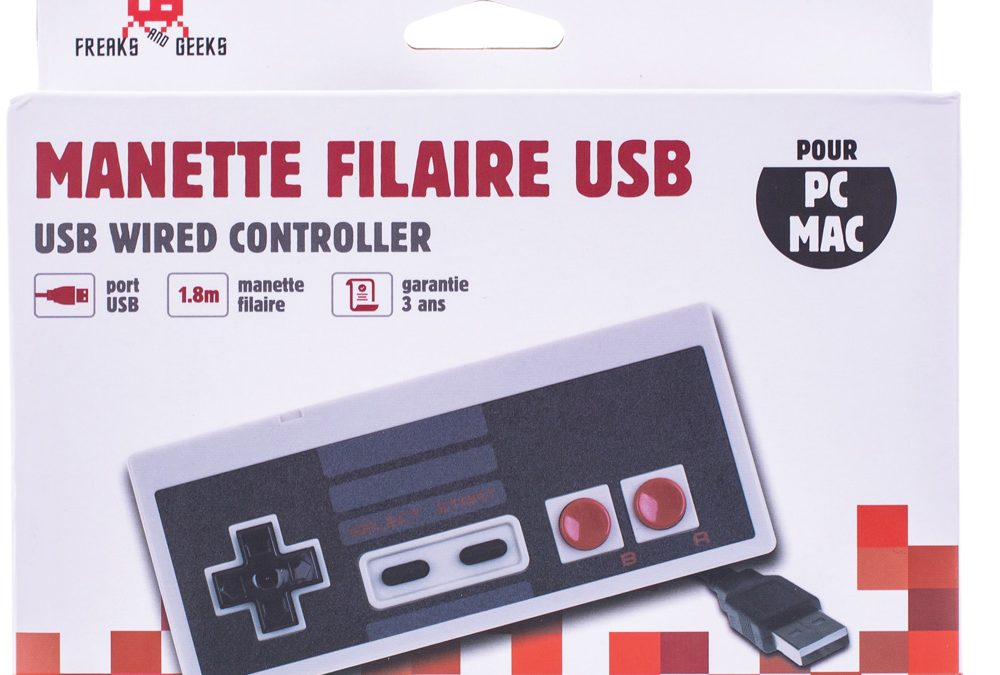 Manette USB forme NES pour PC/MAC