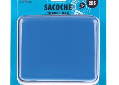 Sacoche 2DS bleu