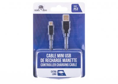 cable recharge manette 3m PS3