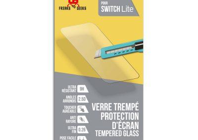 Verre trempé pour Nintendo Switch Lite